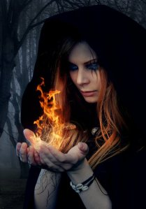 gothic witch modern